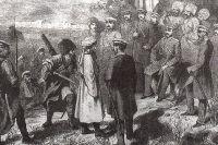 В 1859 году Имам Шамиль сдался во время осады дагестанского аула Гуниб.