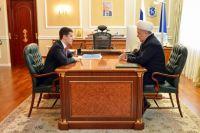 Дмитрий Артюхов встретился с муфтием Ямала Хайдаром Хафизовым