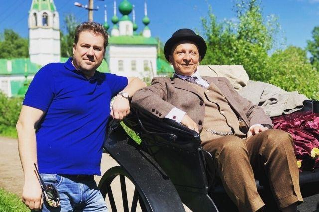 Павел Дроздов и Иван Охлобыстин.