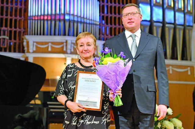 Омскому Союзу журналистов 60 лет.