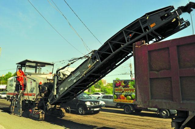 В 2018 году в Омске планируется отремонтировать 37 магистралей.