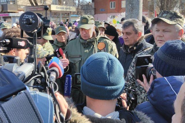 Александр Бастрыкин снова побывал в Кемерове и встретился с пострадавшими при пожаре в ТЦ «Зимняя вишня».
