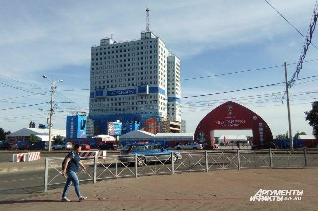 В Калининграде на месяц перекрыли улицу Шевченко.