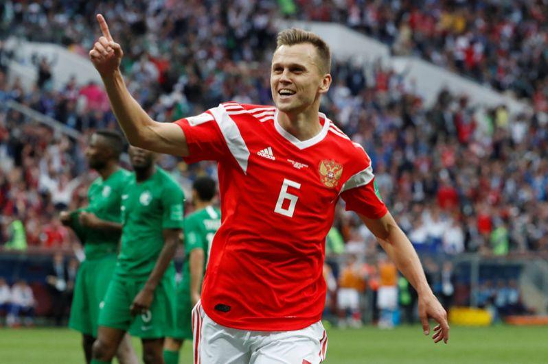 Денис Черышев забил четвертый мяч в ворота соперника.