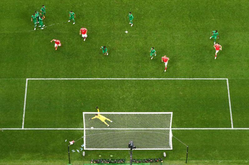 Александр Головин забивает пятый гол.