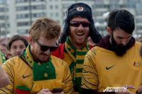 Фанаты сборной Австралии сыграют товарищеский матч с фанатами Франции перед игрой своих сборных.