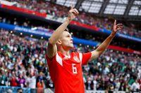 Денис Черышев — лучший игрок матча.
