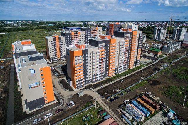 Новый квартал в Барнауле