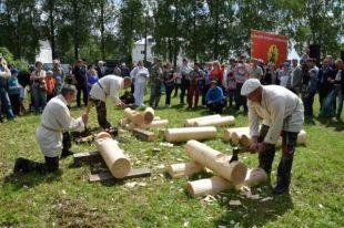 На «Город мастеров» каждое лето съезжается вся округа.