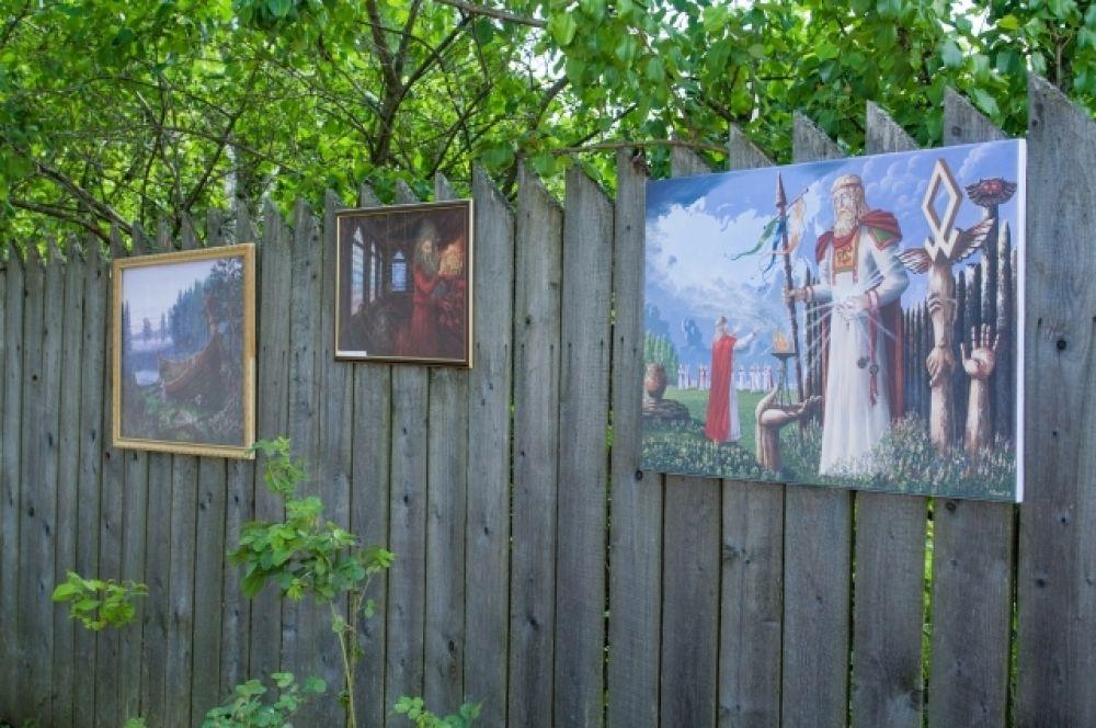 Выставка картин художника Всеволода Иванова.