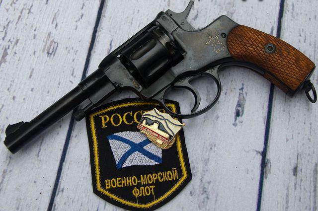Револьвер Нагана.
