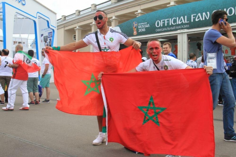 Болельщики сборной Марокко не жалели голосов.