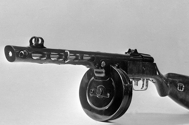 Пистолет-пулемёт Шпагина образца 1941 года.