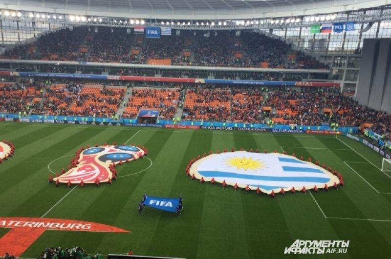 На матче Египта и Уругвая на трибунах зияли бреши: при заполняемости в 33 тысячи человек на игре присутствовали 27 тысяч болельщиков. Таковы издержки раздачи билетов ФИФА спонсорам.