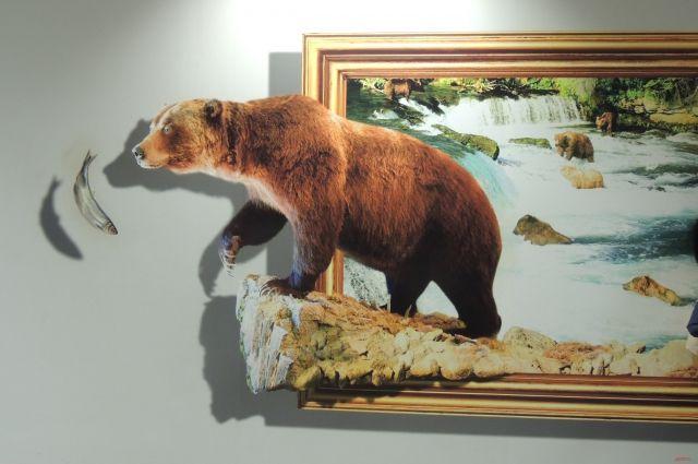 В Оренбурге открывается выставка 3D картин.