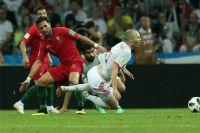 Португалия против Испании.
