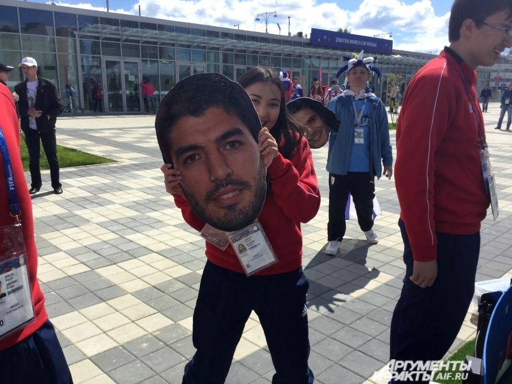Суарес провёл не слишком удачный матч против Египта.