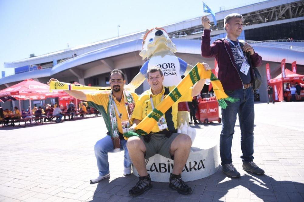 Особой популярностью среди болельщиков пользовался талисман чемпионата - волк Забивака.