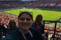 Наши волонтеры были на матче Франция-Австралия