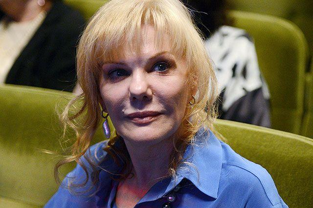 Актриса Александра Захарова.