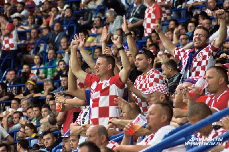 В Калининград приехали тысячи хорватских болельщиков.