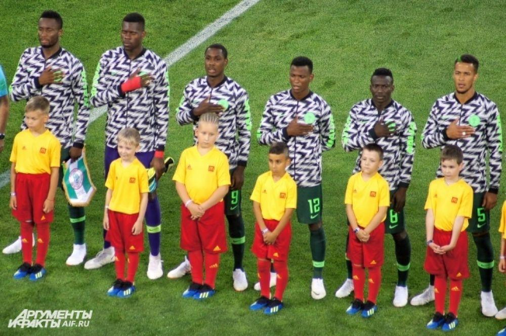 Сборная Нигерии - самая молодая на этом чемпионате.
