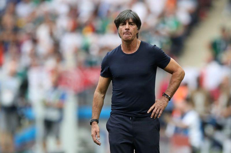 Тренер сборной Германии Йоахим Лёв.