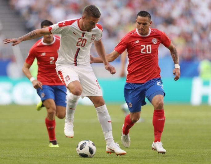 Милинкович-Савич и Давидом Гузман (Коста-Рика).