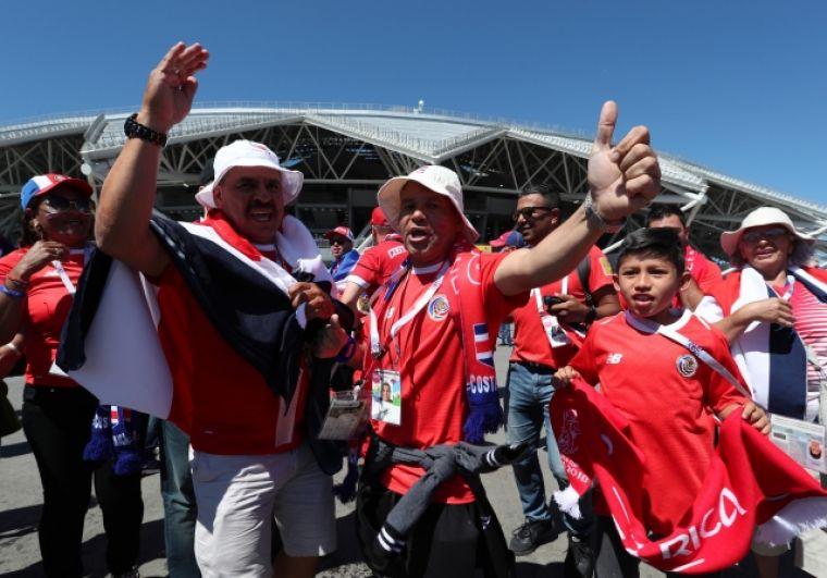 Сборная Коста-Рики не смогла порадовать своих болельщиков.