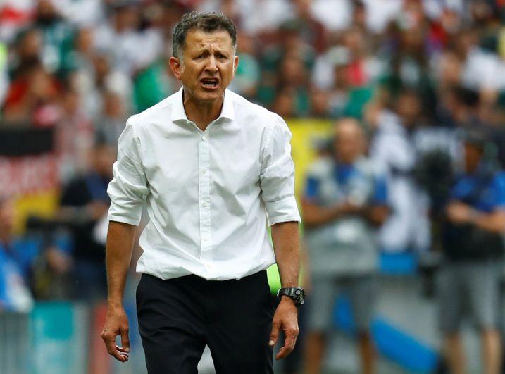 Тренер сборной Мексики Хуан Карлос Осорио.