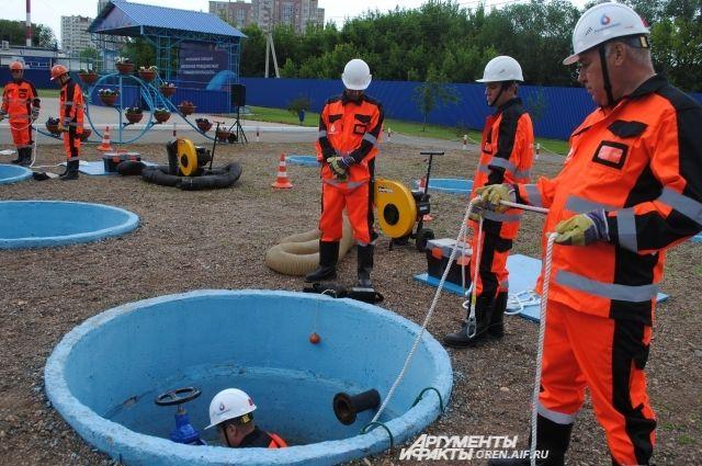 Аварийные работы в колодцах требуют навыков и дисциплины.