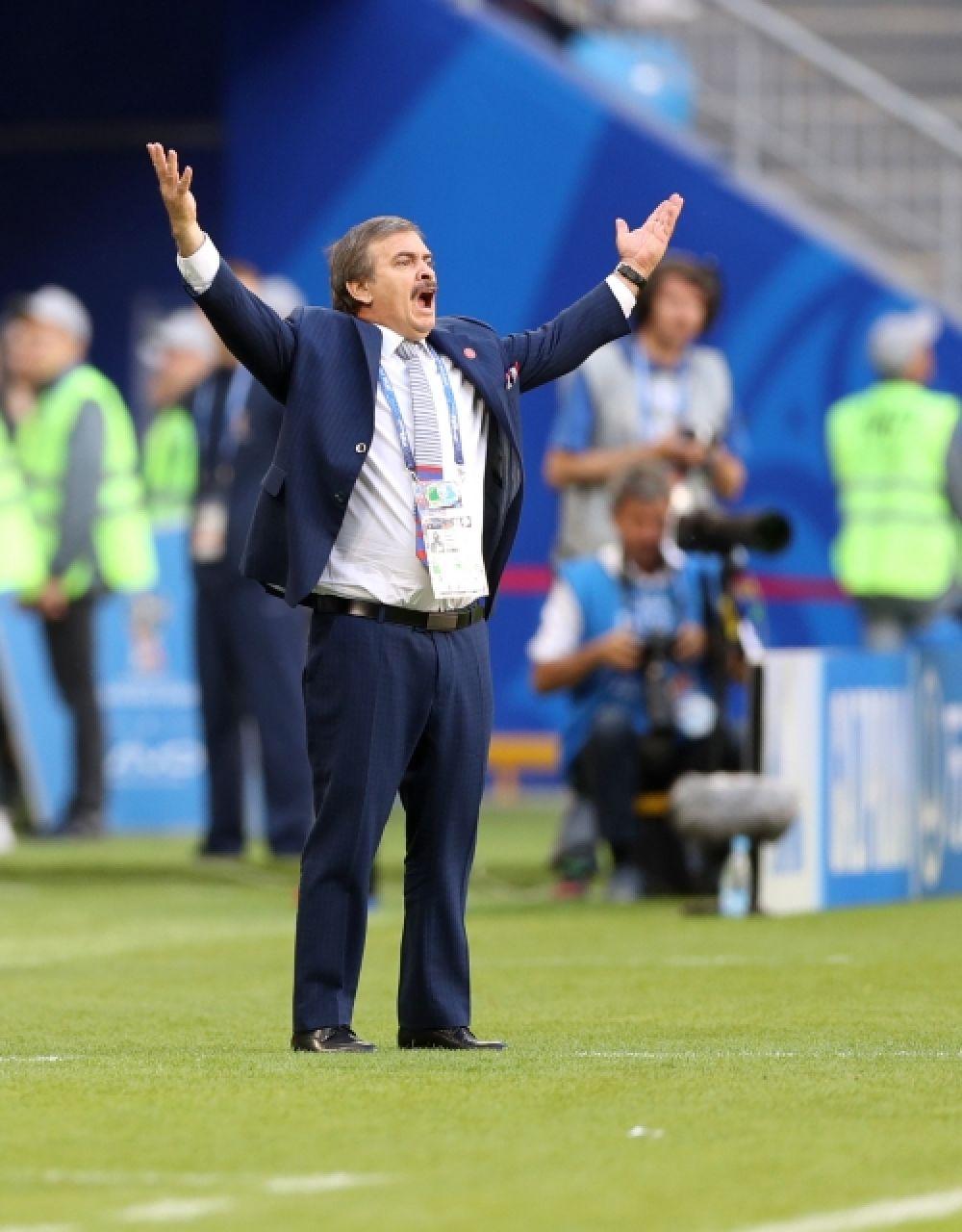 Главный тренер сборной Коста-Рики Оскар Рамирес.