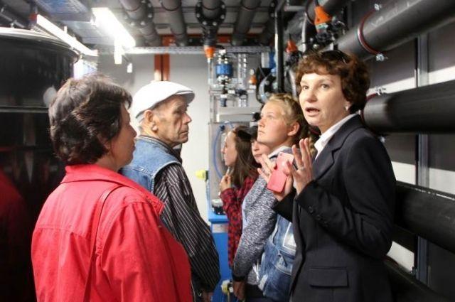 Местные жители смогли своими глазами увидеть современные экологические технологии, применяемые на шахтах «СУЭК-Кузбасс».