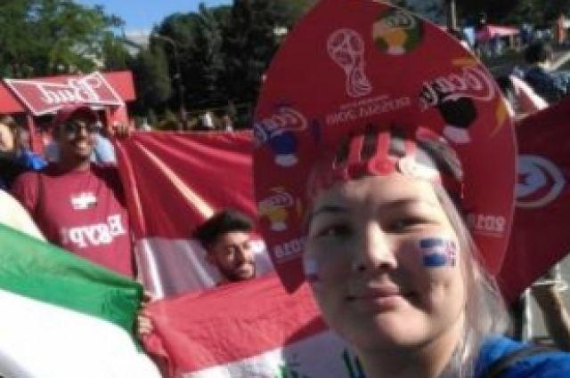 Екатерина Лосецкая - на чм мира по футболу