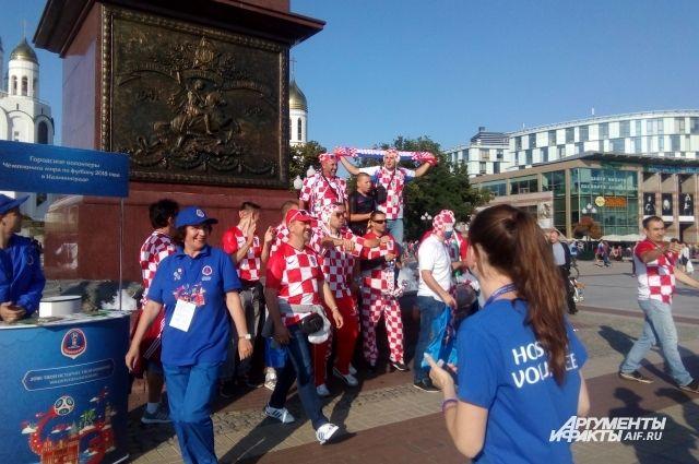 За две недели в Калининградскую область приехали более 6 тысяч болельщиков.