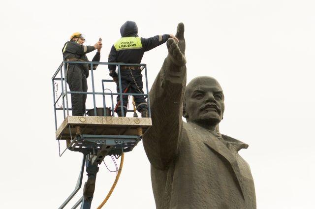 Памятник Ленину мог бы стоить сегодня около семи миллионов рублей.