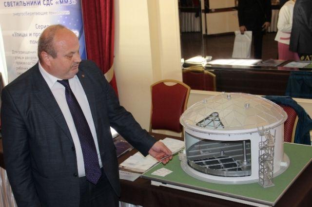 Оборудование производства ММЗ представили на выставке.