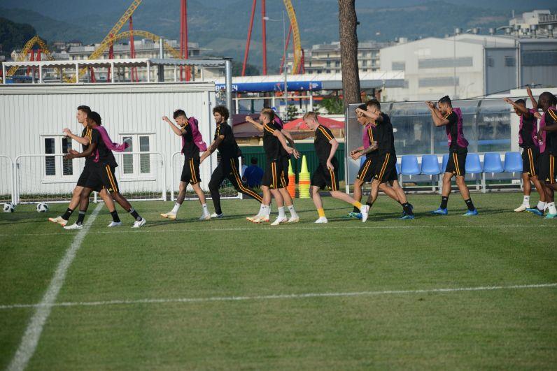 В отбор на российское мировое первенство Бельгия отправилась с испанцем Роберто Мартинесом.