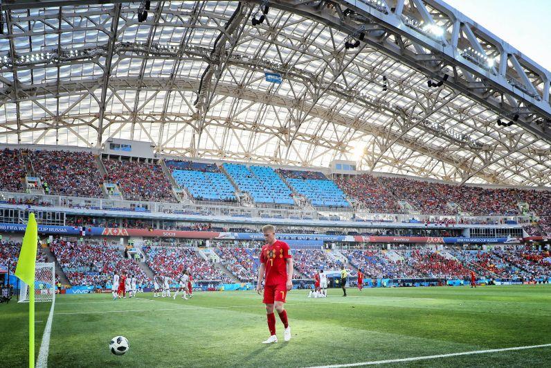 Полузащитник бельгийской сборной Кевин де Брюйне.