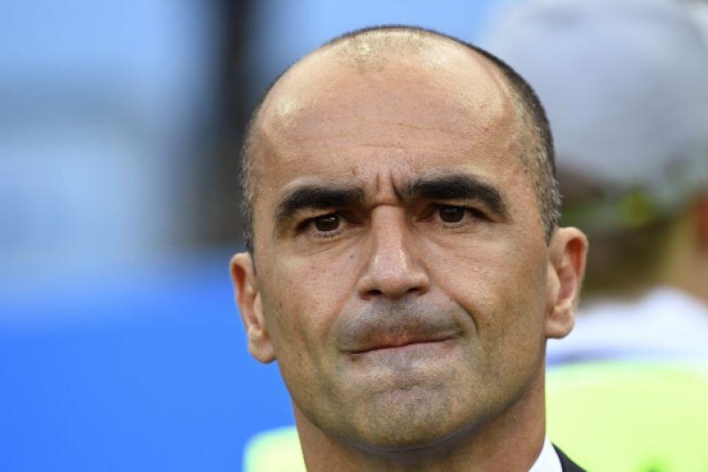 Главный тренер сборной Бельгии Роберто Мартинес.
