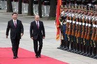 Владимир Путин в Китае.