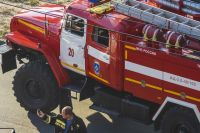 На пожар реагировали 34 человека личного состава и 9 единиц техники.