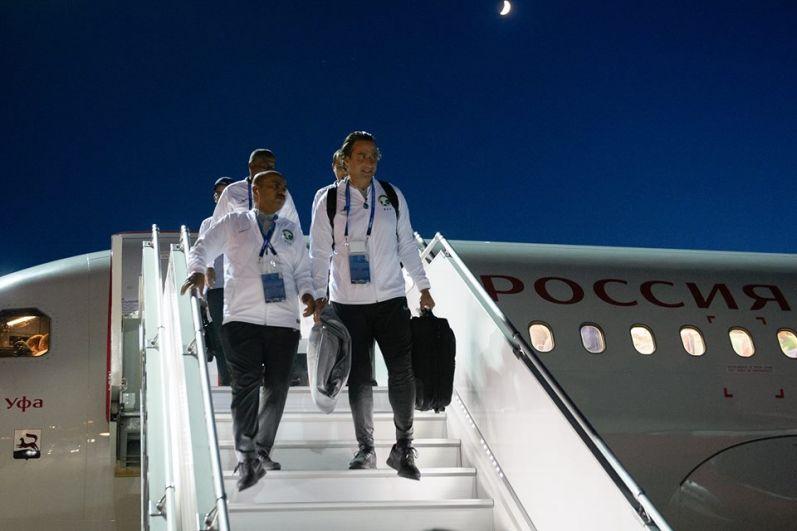 Команде Саудовской Аравии, не принимавшей участие в мировом первенстве с 2006 года, предстоит сыграть матч с командой Уругвая 20 июня на стадионе «Ростов-Арена» донской столицы.