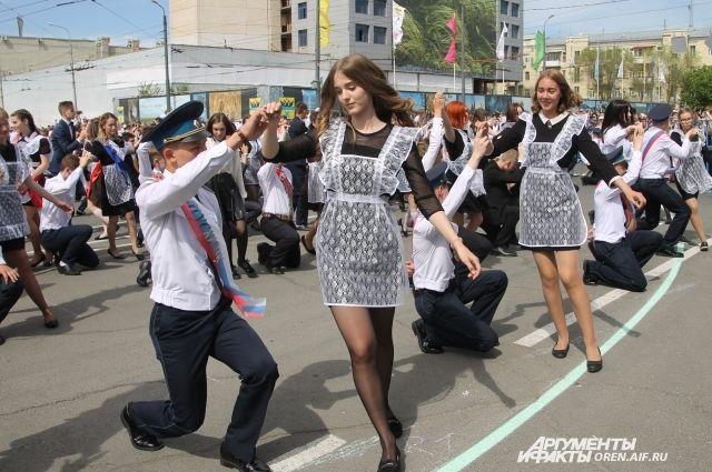 В Оренбурге «Весенний бал» состоится за неделю до конца июня.
