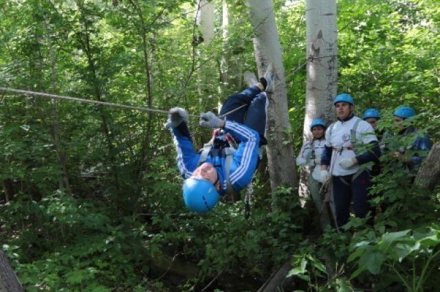 Работники Уральской Стали приняли участие в туристическом слете.