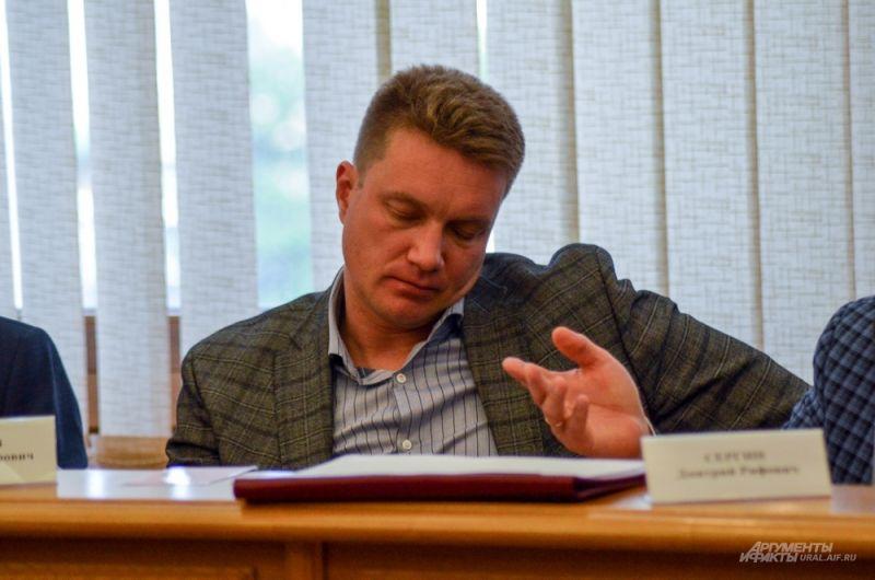 Начальник ГКУ СО «Управление капитального строительства Свердловской области» Олег Кагилев.