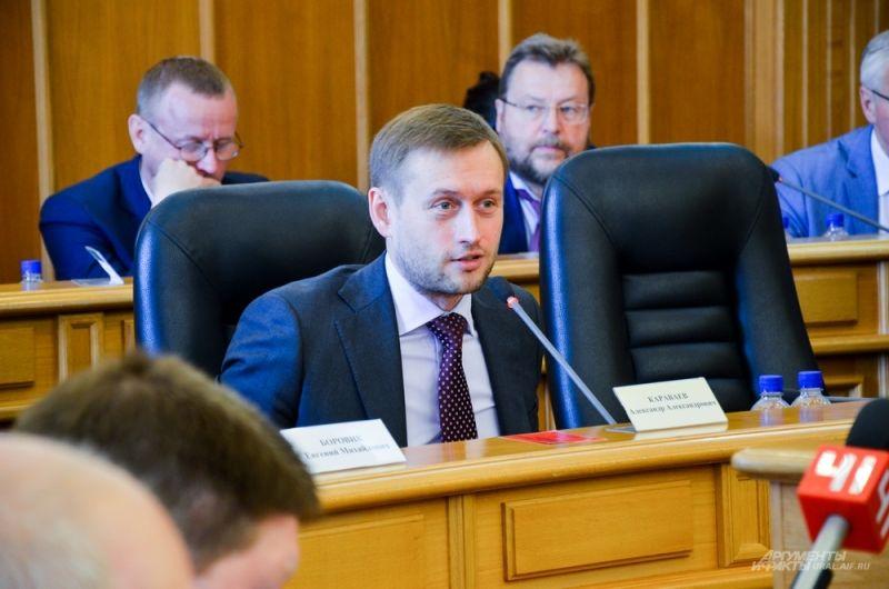 Бывший руководитель Свердловского фонда капремонта Александр Караваев.