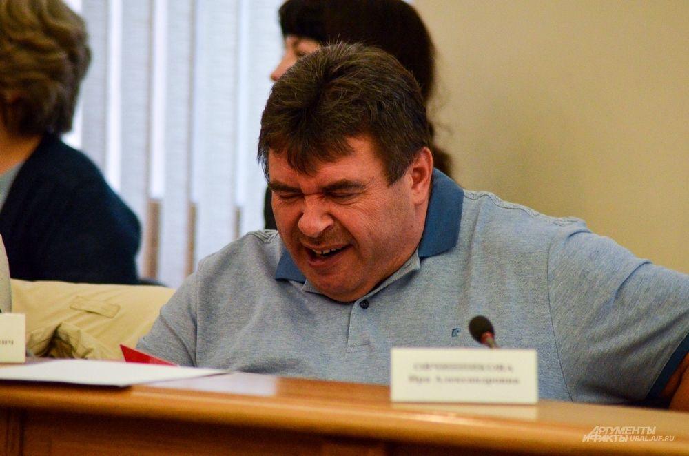 Генеральный директор ЗАО «Орджоникидзевская Управляющая жилищная компания» Александр Найданов.