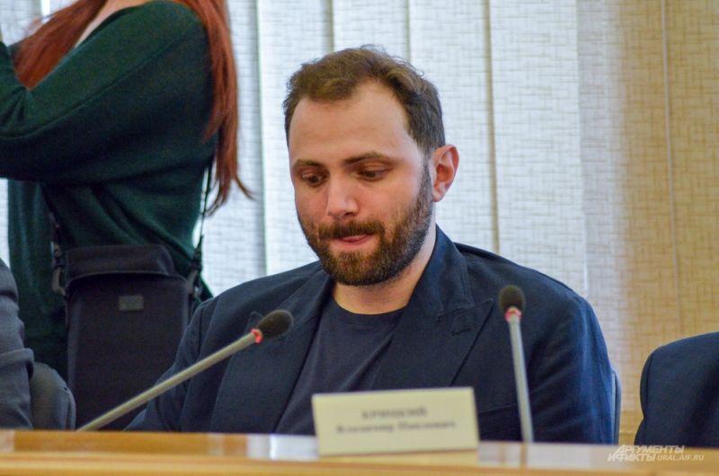 Депутат Виктор Ананьев.