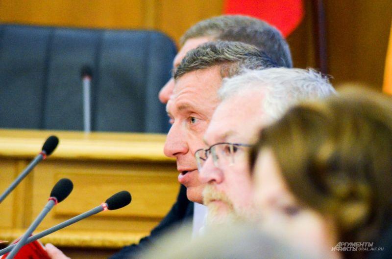 Депутат Дмитрий Головин.